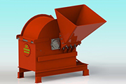 Biomass Crusher Cum Shredder Machine